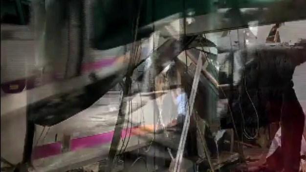 Train Crashes into Hoboken Train Station in NJ