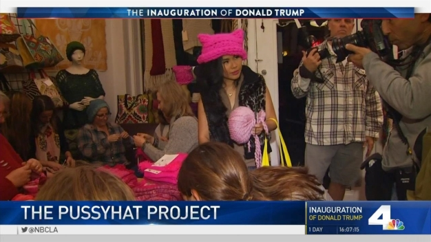 'Pussyhat Project' Founders Talk Pink Hats to Protest Trump