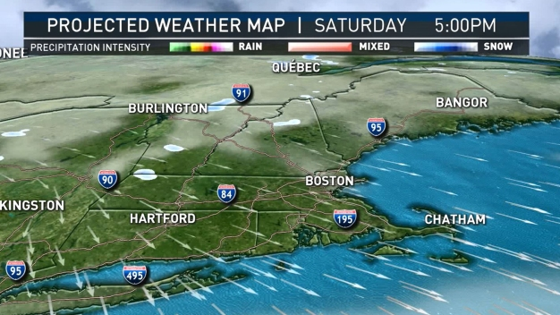 Friday Rain and Snow Departs by Saturday for Quiet Weekend