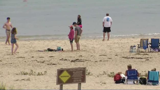 Shark Sightings Keep Vacationers Out of Cape Cod Waters During Extreme Heat