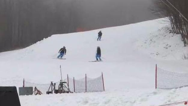 Finishing Touches for World Cup Ski Racing in Vermont