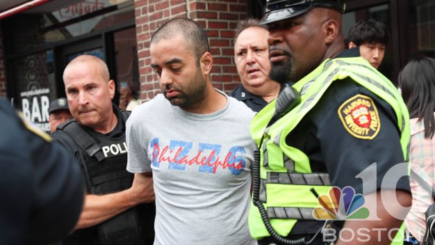 PHOTOS: Man Suspected of Killing Father Caught in Harvard Square
