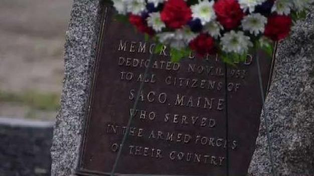 Stolen Plaque Honoring Veterans Returned to Maine Park