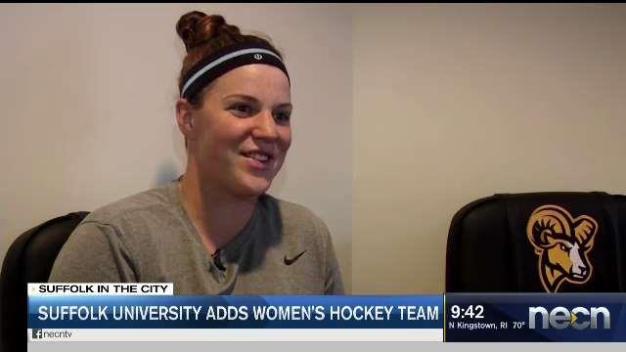 Suffolk University Adds Women's Hockey Team