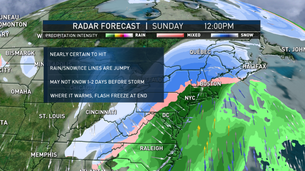 FIRST ALERT: Wintry Mix Friday, Larger Storm for Weekend