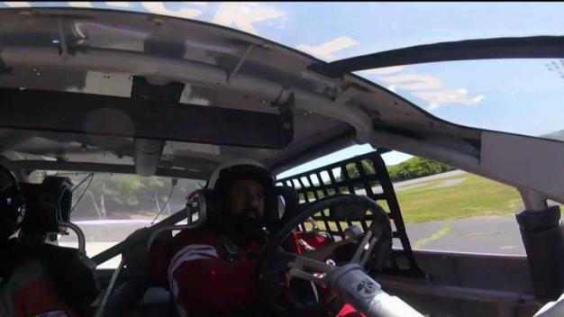 WWII Vet, 93, Among Disabled Veterans to Drive Race Car
