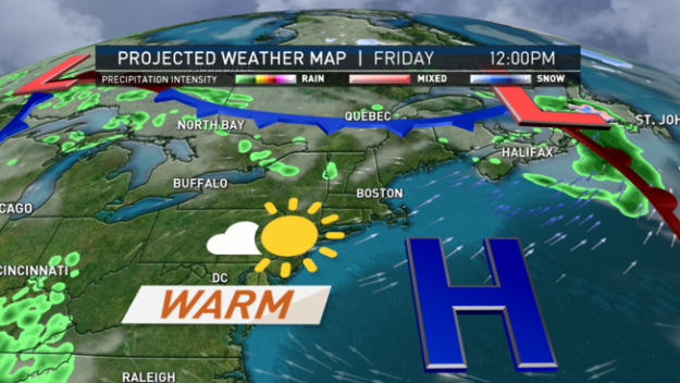 Clouds Give Way to Sunshine; Warm Heading Into Memorial Day