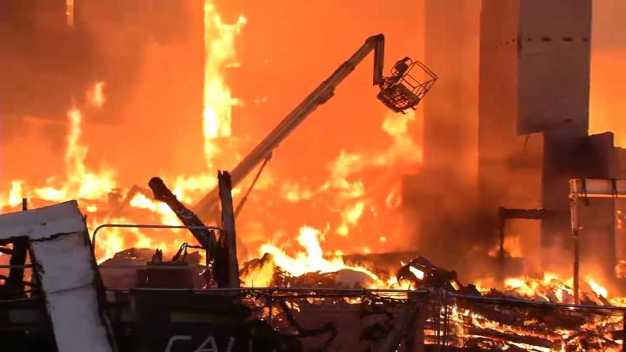 Firefighters See Risk in Large Wood Structures