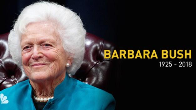 Barbara Bush's Legacy in New England