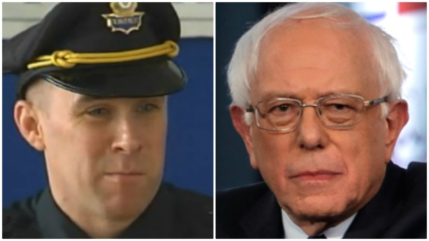 Officer Injured in Shootout With Marathon Bombers Responds to Sanders Over Controversial Remark