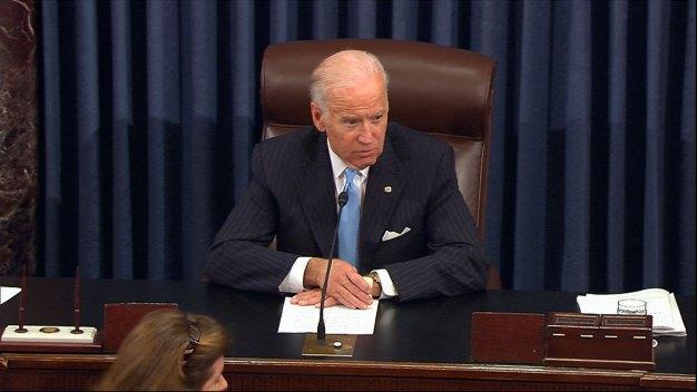 Vice President Biden Honored on Senate Floor
