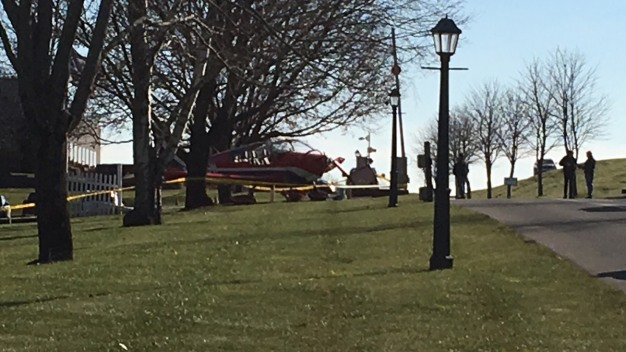 Police Respond to Plane Accident in Chester, Conn.