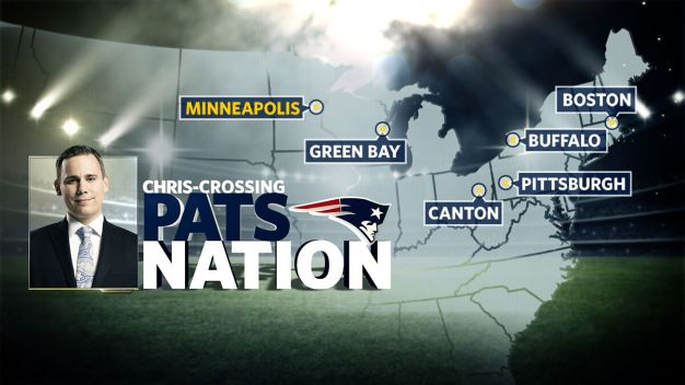 Chris-Crossing Pats Nation: Road to the Super Bowl