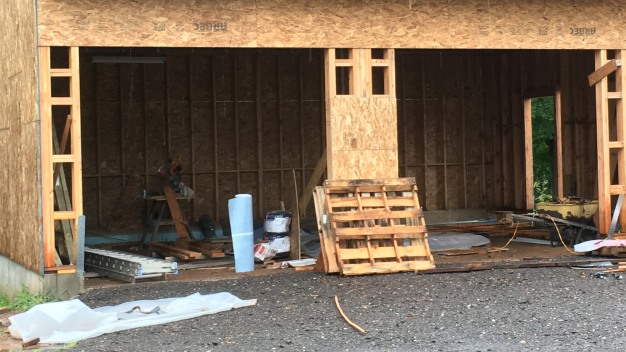 Woman Injured in Wall Collapse in East Granby