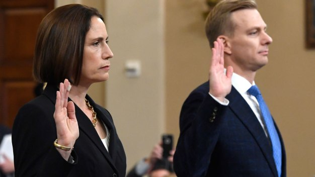 Read Fiona Hill, David Holmes' Opening Statements at Hearing