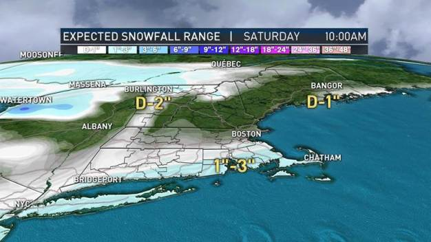 Another Round of Snow Showers Tonight