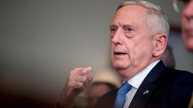 Trump Says Defense Chief's Job '100 Percent' Safe: Mattis