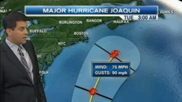 Joaquin May Not Have Major Impact on New England