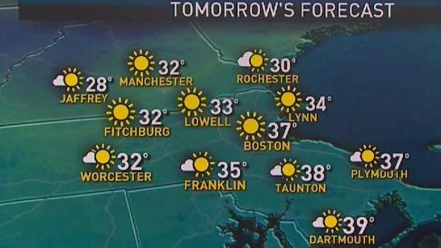 Weather Forecast: Cool Temperatures Hang Around on Thursday