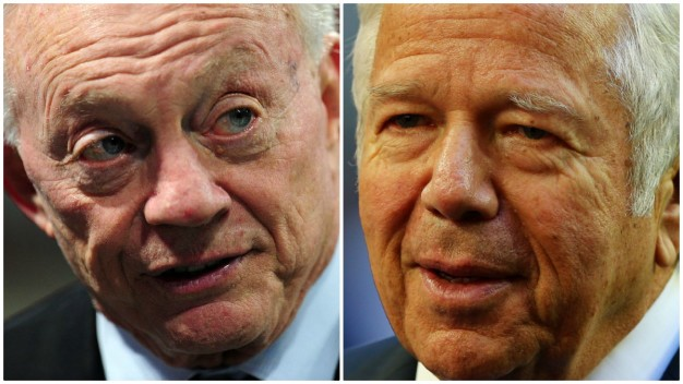 Report: Jones Insulted Kraft in Conversation With Goodell