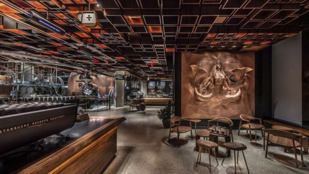 A Look Inside Starbucks' Newest Reserve Roastery in New York City