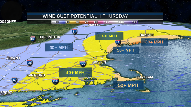 Damaging Winds, Rain: What to Know About Strong Midweek Storm