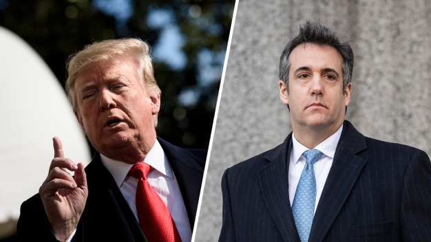 Trump Blames Lawyer Michael Cohen for Hush Money 'Liability'