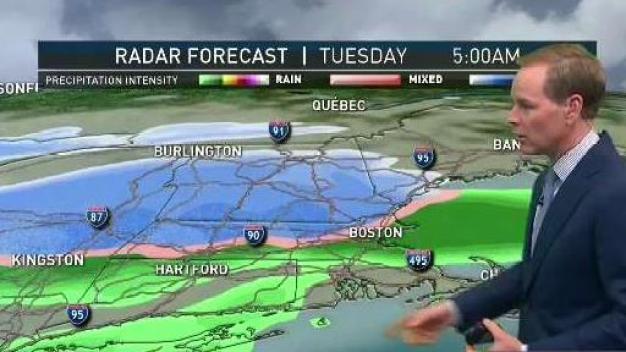 Light Overnight Showers; Snow Storms Return Tuesday