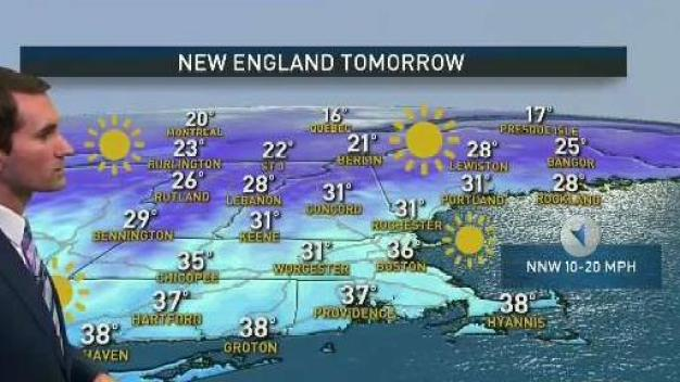 Cold, Sunny Stretch Continues
