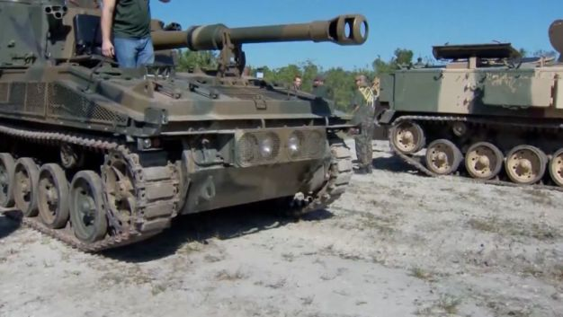 Bored? Mad? Crush a Car With a Tank -- You'll Feel Better