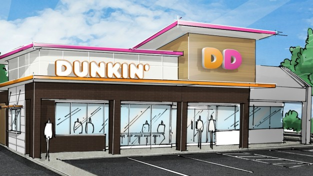 Re-Branded Dunkin' Without the 'Donuts' Opening in Quincy