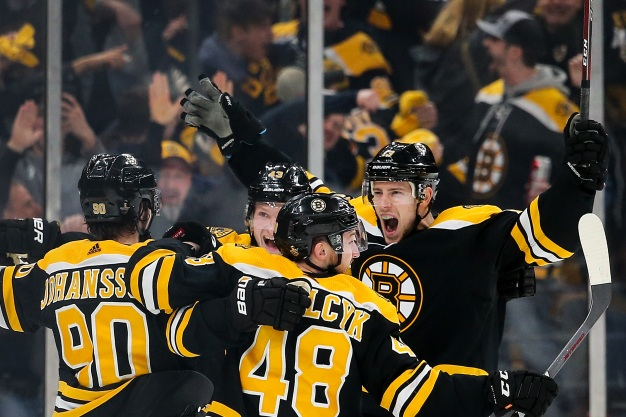 Bruins Knock Off Blue Jackets in Overtime