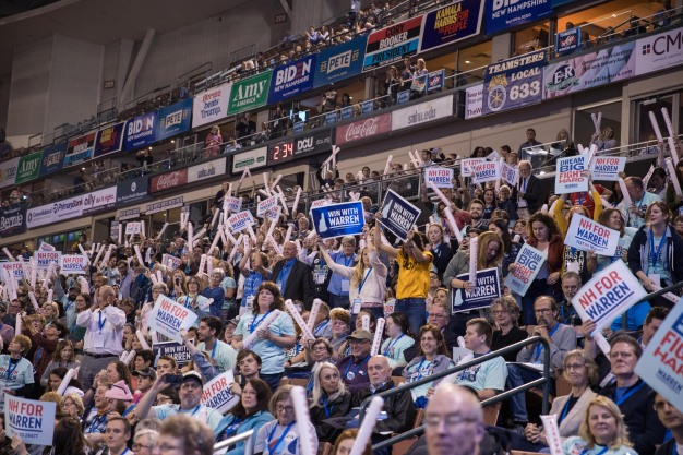 In NH, 2020 Dems Urge Voters to Not Play It Safe
