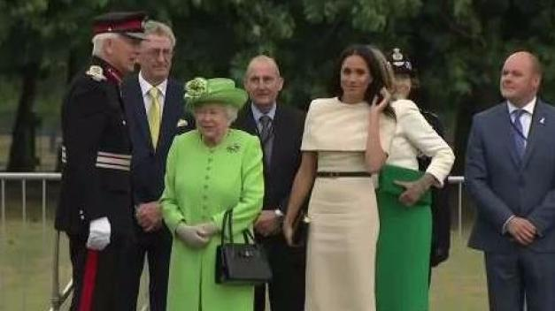 Queen Appears With Markle