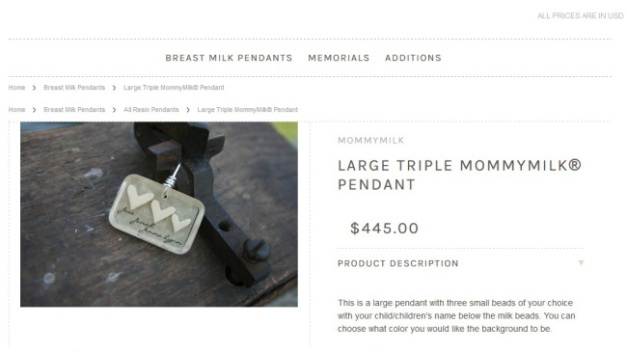 Breast Milk Jeweler Ordered to Refund Customers