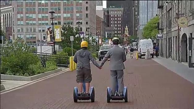 Segway Into Boston