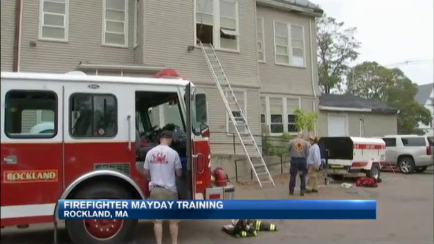 Firefighters Train For Mayday Calls in Massachusetts