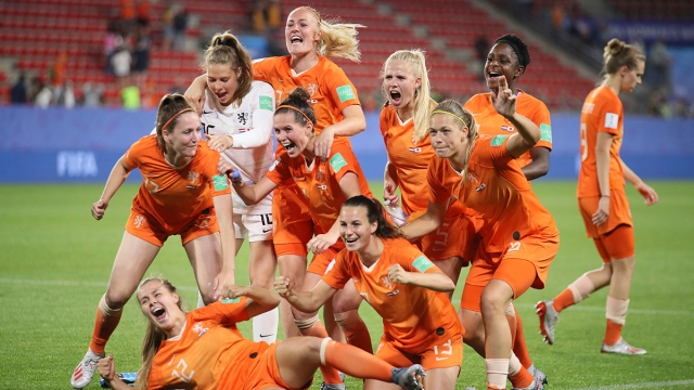 Women's World Cup: Dutch Advance to Quarterfinals