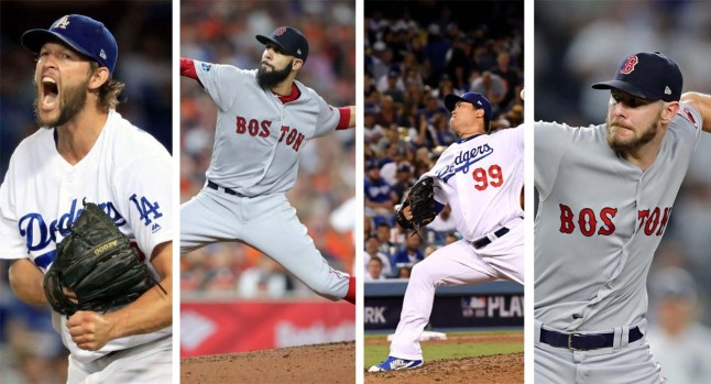 Photos: Projected World Series Starting Rotations for the Red Sox and Dodgers