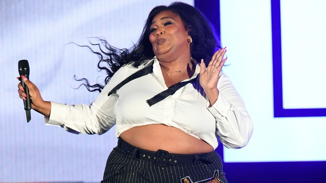 Lizzo Promotes Self-Care at We Can Survive Benefit Concert