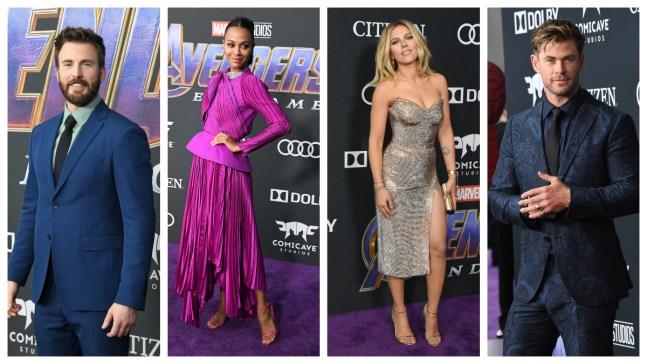 Avengers Receive Epic Send-Off at 'Endgame' World Premiere