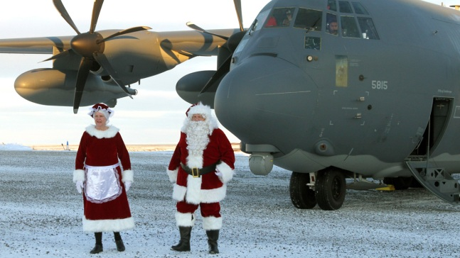 Even Santa Needs Help Getting to Some Places: Remote Alaska