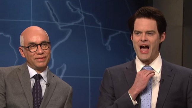 Bill Hader Returns as Scaramucci to 'SNL'