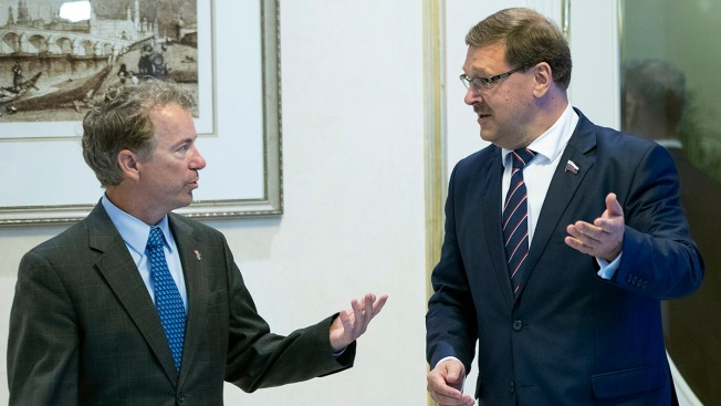 Sen. Rand Paul Invites Russian Lawmakers to Washington