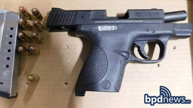 Boston Police Charge Two in Separate Gun-Related Incidents