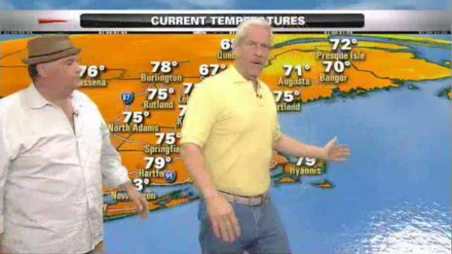 Stand-up Comics Take Over NECN Weather