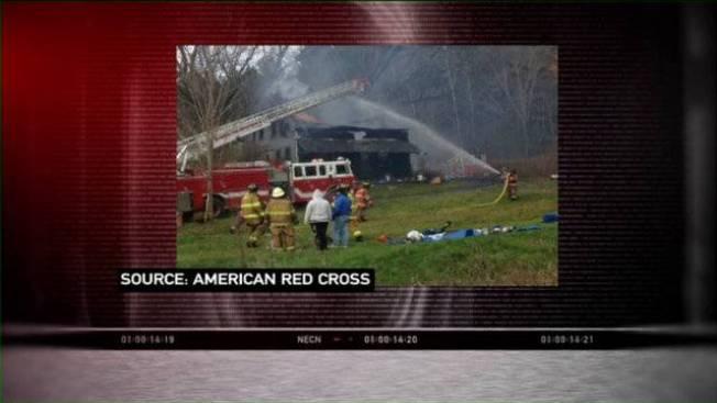 2 Homeless After Fire Burns Historic Fairfax, Vt. Home