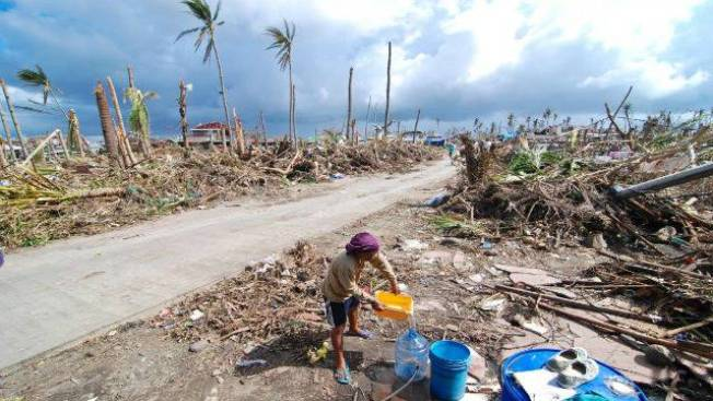 Boston-based Oxfam Helping With Desperate Water Situation in Philippines