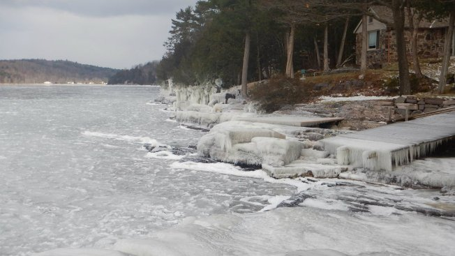 Residents Save Man From Icy Lake Champlain