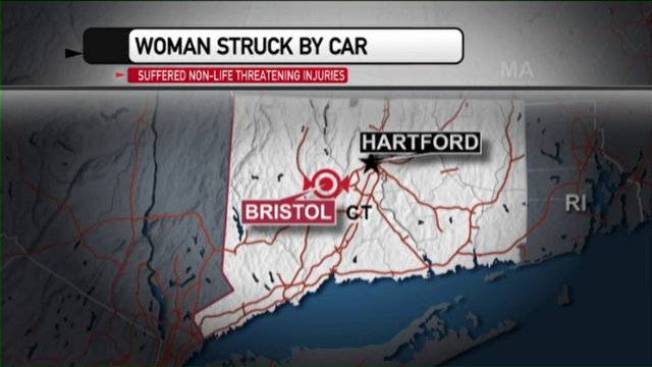 Woman Struck in Bristol, Conn. Hit-and-run
